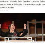 Global teacher prize winner Andria Zafirakou to found school arts charity