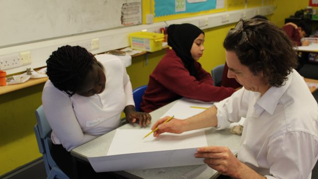 Alexander Newley at Kilburn Park Foundation School