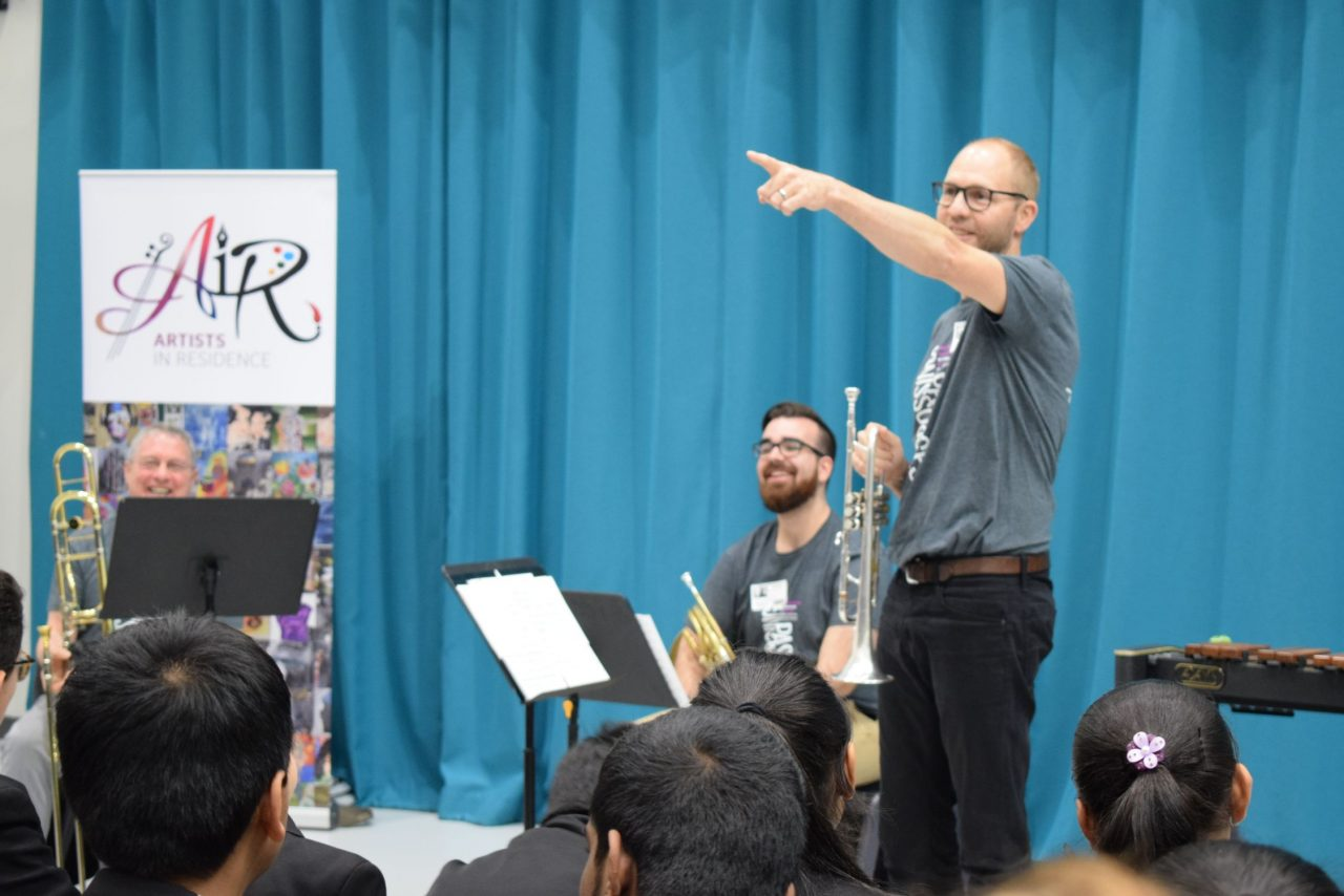 Canada's National Arts Centre Orchestra (NACO) at Alperton Community School