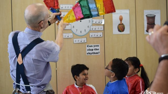 Alistair Lambert at Grange Primary